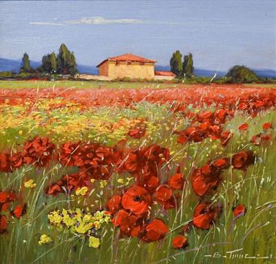 Lot 1027 - Bruno Tinucci (Contemporary) Italian ''Rosso e...