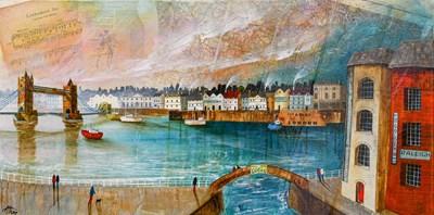 Lot 1031 - Keith Athay (Contemporary) ''The Thames at...