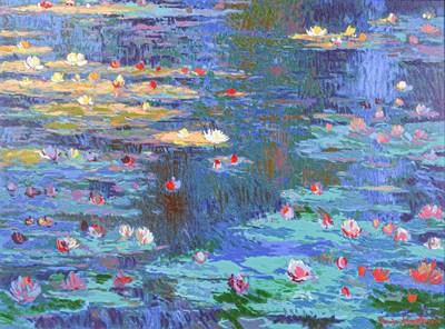Lot 1043 - John Myatt (b.1945) after Claude Monet...