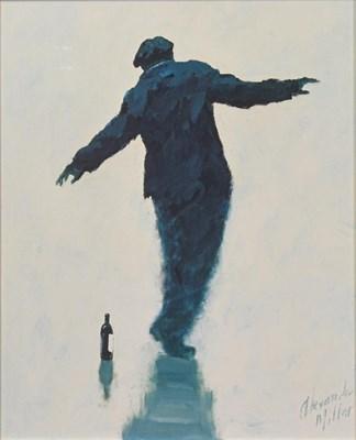 Lot 1049 - Alexander Millar (b.1960) Scottish ''Tightrope'...