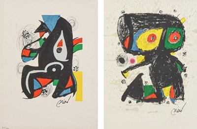 Lot 1059 - After Joan Miró (1893-1983) Spanish ''La...