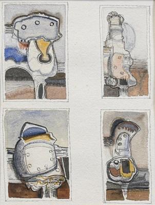 Lot 1061 - David Carr (1915-1965) Industrial Machines,...