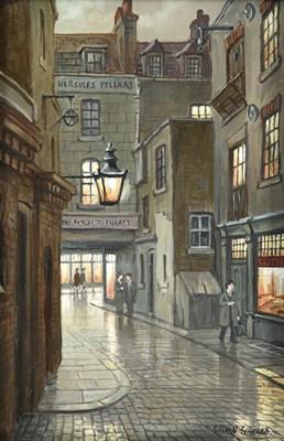 Lot 1076 - Steven Scholes (b.1952) ''Manette St Soho,...