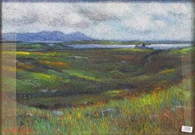 Lot 1078 - John Mackie (b.1955) Loch side landscape...