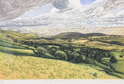 Lot 1080 - Piers Browne (Contemporary) ''Wensleydale from...