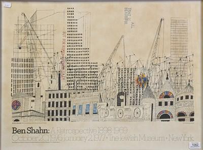 Lot 1082 - Ben Shahn (1898-1969) Lithuanian/American ''A...