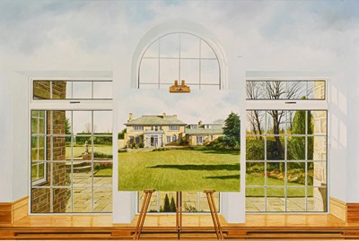Lot 1087 - Neil Simone (b.1947) ''Aspects of South Lawns''...