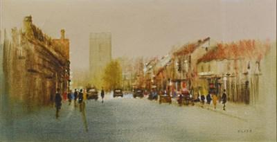 Lot 1088 - Anthony Klitz (1917-2000) ''Street scene''...