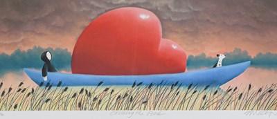 Lot 1008 - Mackenzie Thorpe (b.1956) ''Crossing the Pond''...