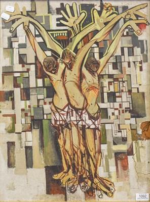 Lot 1092 - David Randall (20th century) ''Crucifixion''...