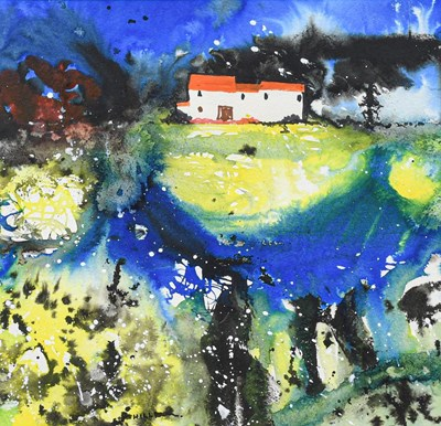Lot 1095 - Eric H Hill (1921-2021) ''The Cottage'' Signed,...