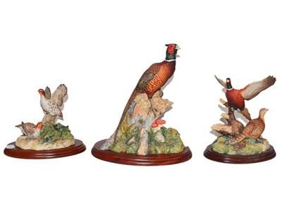 Lot 39 - Border Fine Arts Game Birds, comprising:...
