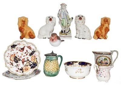 Lot 47 - A quantity of ceramics, comprising: mainly...