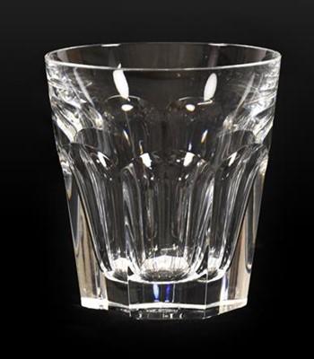 Lot 59 - A Set of Ten Baccarat Harcourt Pattern Whisky...