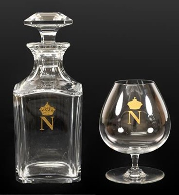 Lot 61 - A Baccarat Napoleon Brandy Decanter and...