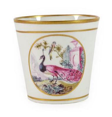 Lot 81 - An English Porcelain Beaker, possibly...