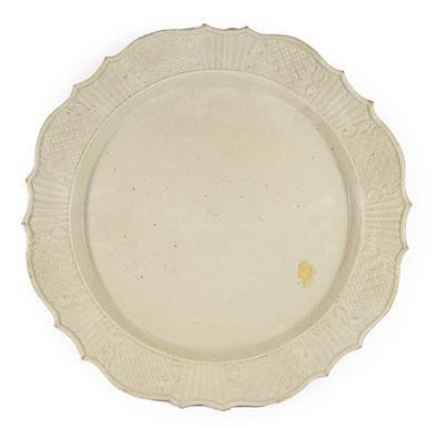 Lot 86 - A Staffordshire White Saltglazed Stoneware...