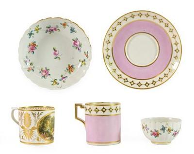 Lot 96 - A Derby Porcelain Coffee Can, circa 1810,...