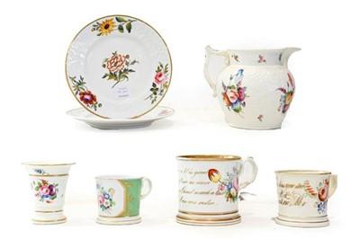 Lot 98 - A Coalport Porcelain Jug, circa 1840, of...