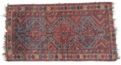Lot 497 - Khamseh Rug South West Iran, circa 1900 The...