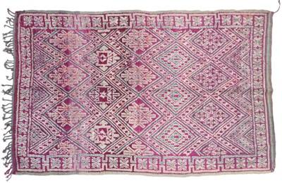 Lot 501 - Moroccan Carpet, 2nd quarter 20th century The...