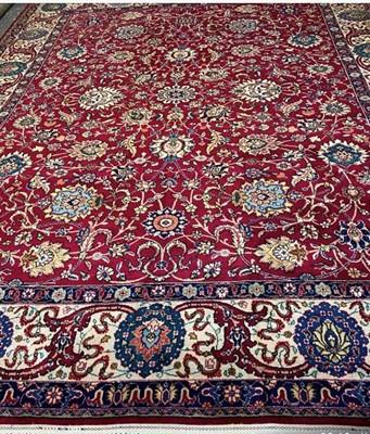 Lot 523 - Tabriz Carpet North West Iran, circa 1950 The...