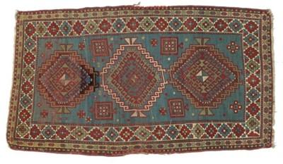 Lot 532 - Kazak Rug Central Caucasus, circa 1880 The...