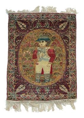Lot 537 - Rare Kirman Mat South East Iran, circa 1890...