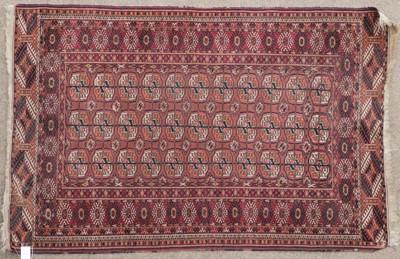 Lot 548 - Tekke Rug Emirate of Bukhara, circa 1900 The...