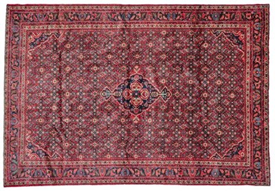 Lot 555 - Hamadan Carpet West Iran, circa 1950 The...