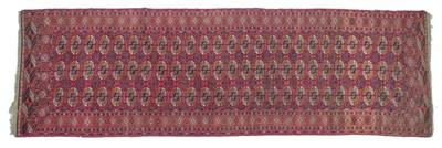 Lot 557 - Tekke Runner Emirate of Bukhara, circa 1900...