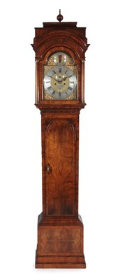 Lot 565 - A Walnut Eight Day Longcase Clock, case with...