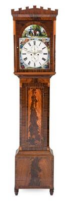 Lot 573 - A Scottish Mahogany Eight Day Longcase Clock,...