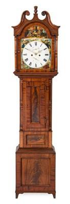 Lot 574 - A Scottish Mahogany Eight Day Longcase Clock,...