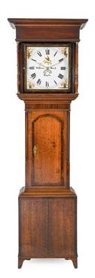 Lot 576 - An Oak and Mahogany Thirty Hour Longcase Clock,...