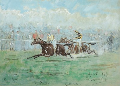 Lot 359 - George Finch Mason (1850-1915) Ascot the Gold...