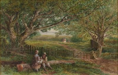 Lot 363 - Edmund Morrison Wimperis (1835-1900) Figures...