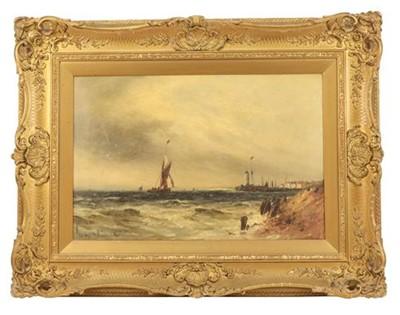 Lot 364 - Gustave de Breanski (1856- 1898) Shipping off...
