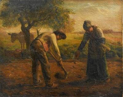 Lot 366 - After Jean-Francois Millet (1814-1875) French '...