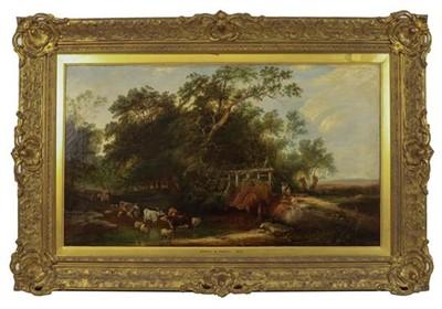 Lot 368 - Follower of E C WIlliams (19th century) Eel...