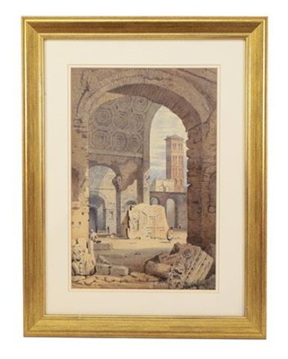 Lot 383 - Attributed to Samuel Prout (1983-1852)...