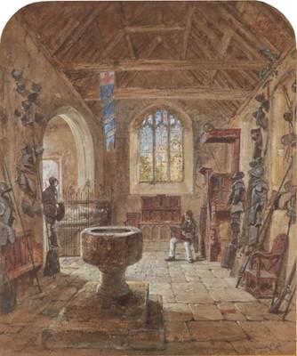 Lot 384 - James Hardy Jnr. RI (1832-1889) An artist...