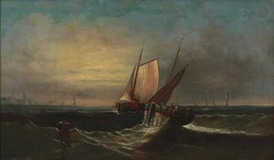 Lot 390 - A Lenof (19th/20th century) Fishing vessels...