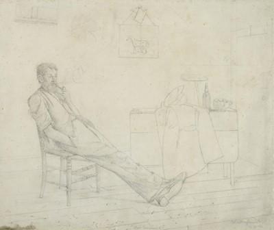 Lot 393 - Charles Spencelayh (1865-1958) ''Not Insured''...