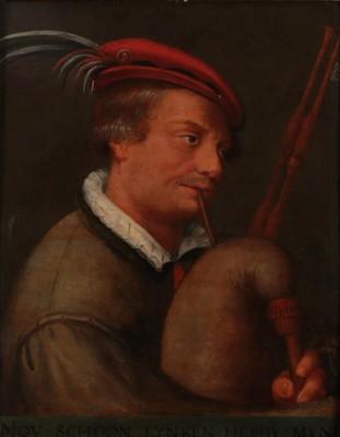 Lot 395 - Manner of Hendrick Ter Bruggen (1588-1629)...