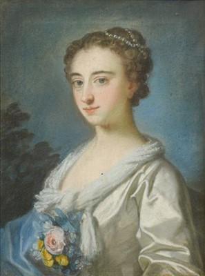 Lot 401 - Circle of Arthur Pond (1705-1758) Portrait of...