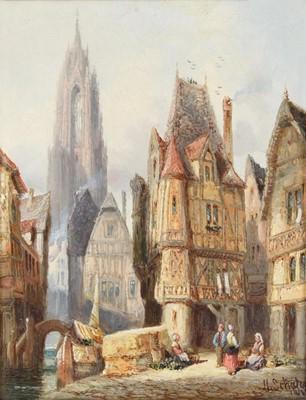 Lot 406 - Henry Thomas Schafer (1854-1915) Utrecht,...