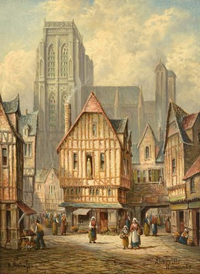 Lot 409 - Henry Thomas Schafer (1854-1915) ''Abberville,...