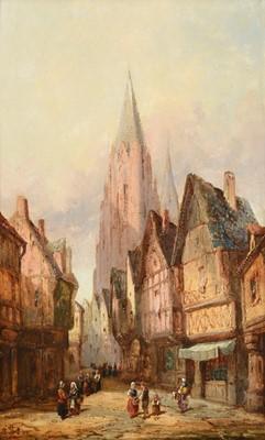 Lot 411 - Henry Thomas Schafer (1854-1915) Antwerp...