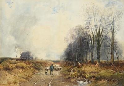 Lot 415 - William Manners RBA (1860-1930) Shepherd...